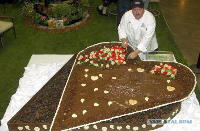 самая большая коробка конфет в мире фото шоколад
