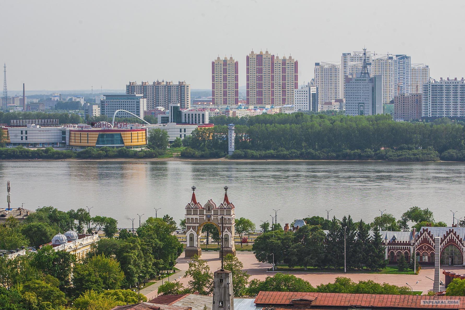 благовещенск граница с китаем фото