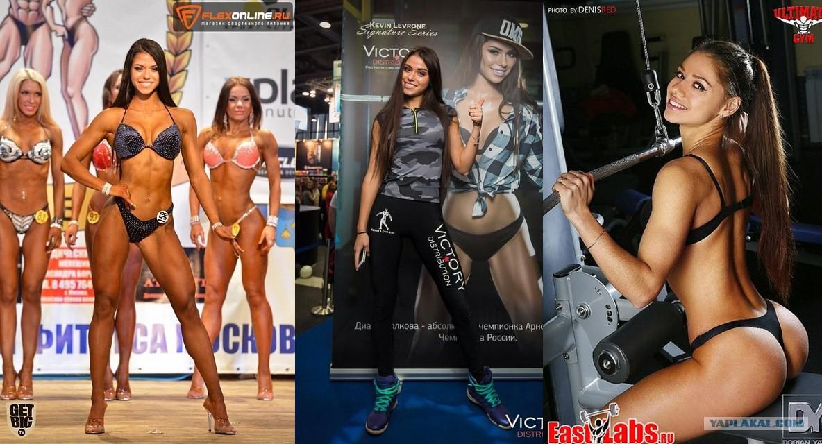 Русский фитнесс бикини
