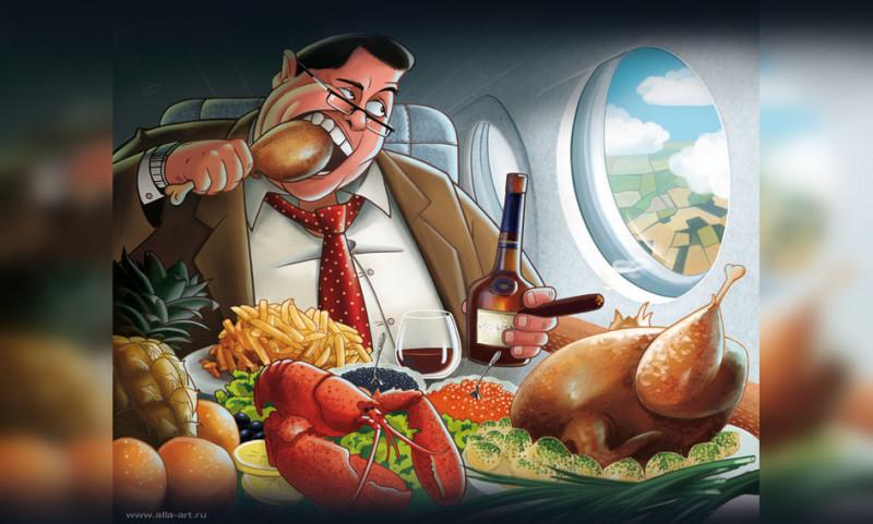 Кто придумал кормить пассажиров в самолете и как это делали в СССР