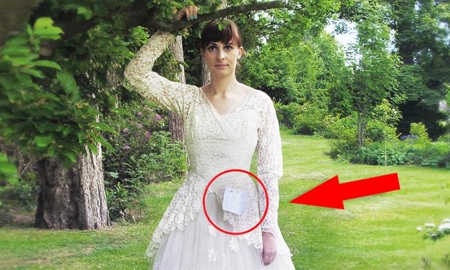 фото раком в свадебном платье