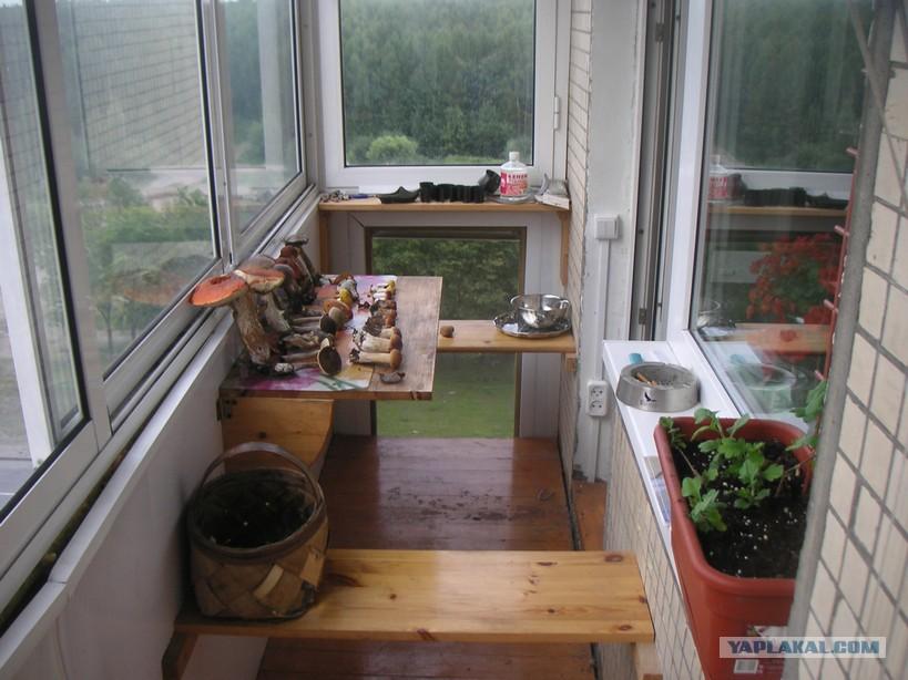 Зона отдыха на балконе и другие крутые идеи = hodor.