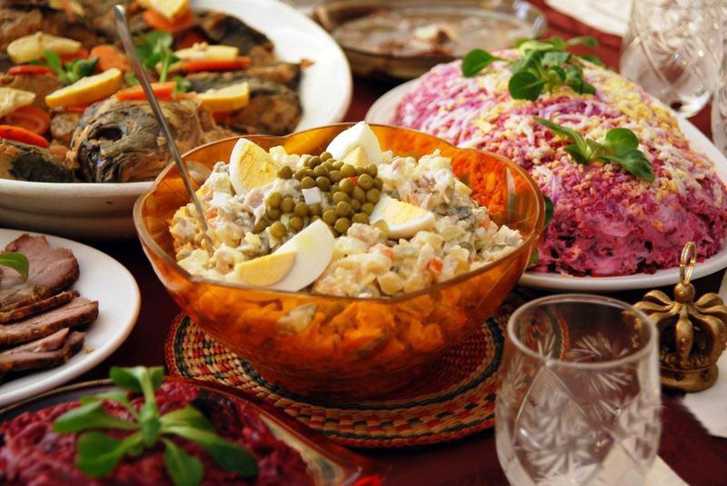 Самые популярные блюда в россии