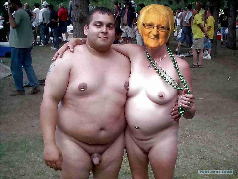 пенсионерка занялась сексом
