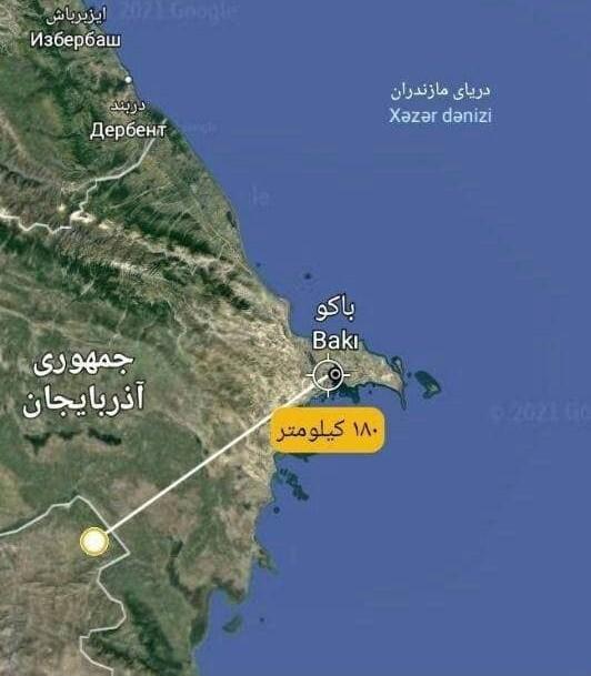 ВС Ирана могут нанести мощный удар системой FAJR-5 прямо по Баку