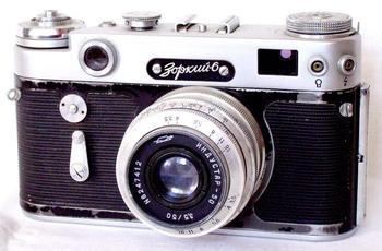 История советского фотоаппарата