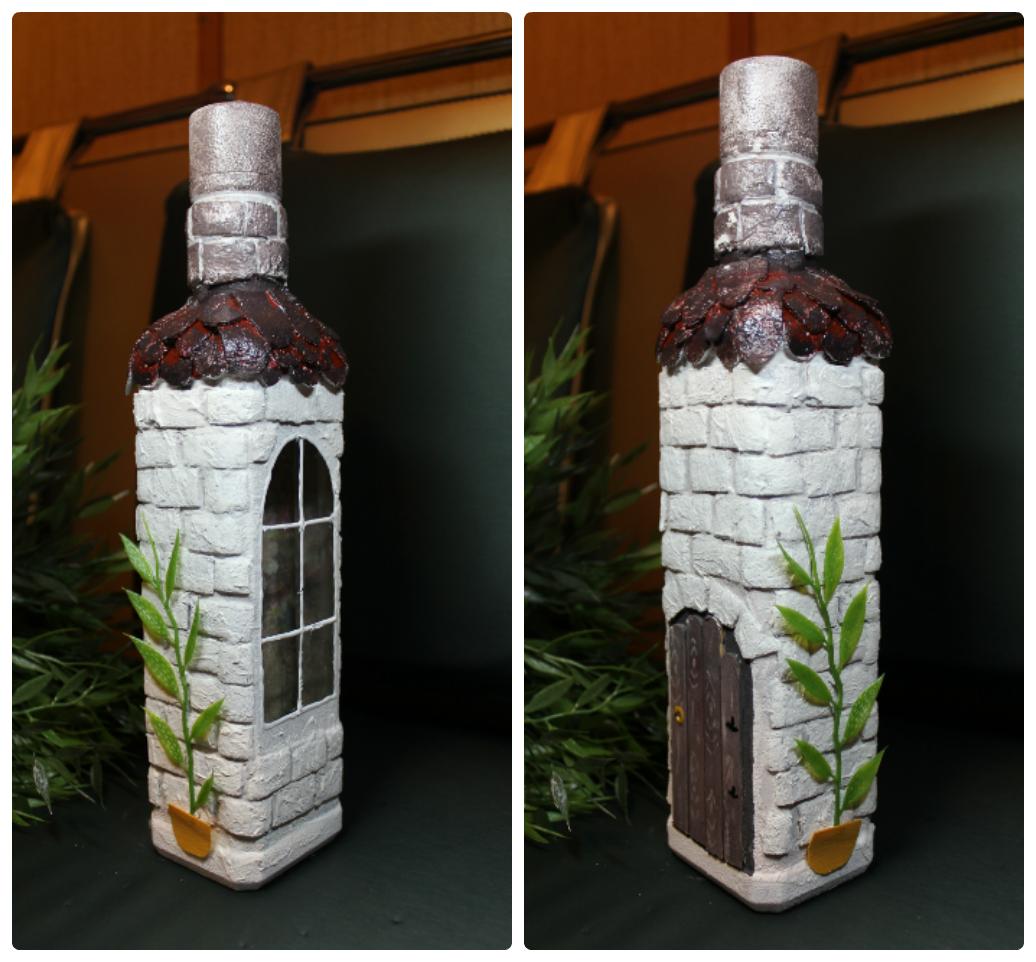 Украшение бутылок лентами и кружевом - Поиск в Google 76