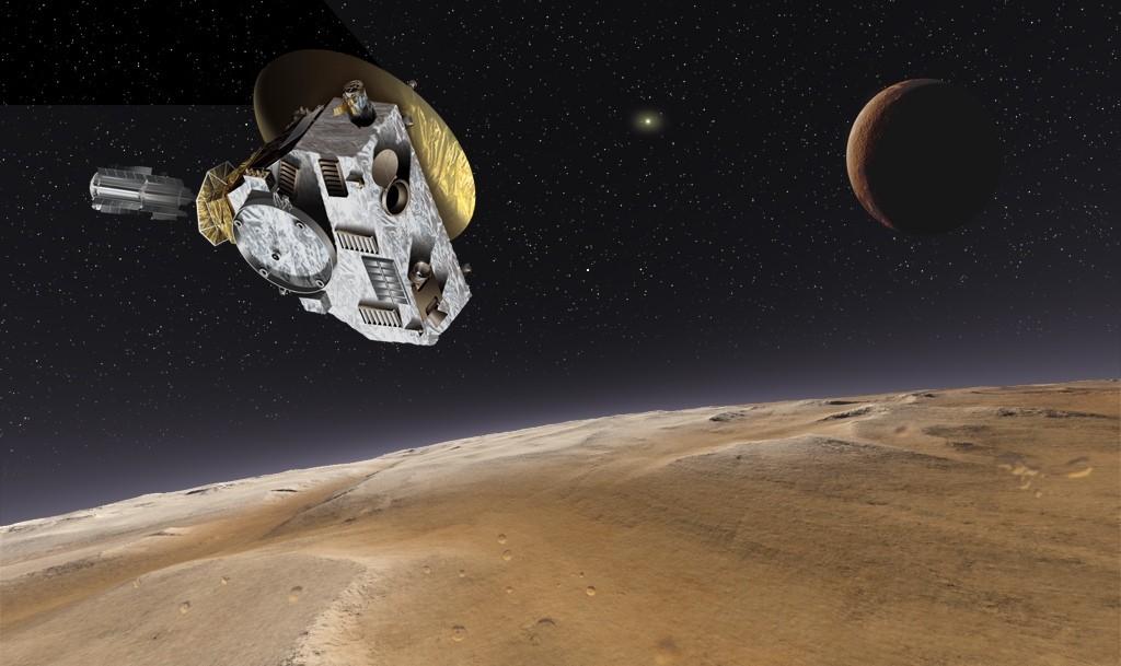 космический аппарат новые горизонты фото впервые попробовал