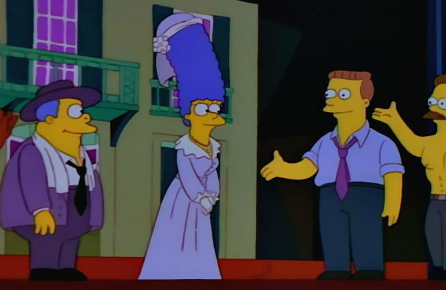 Симпсоны трансвеститы