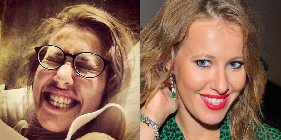 Фото знаменитостей выложенных без макияжа