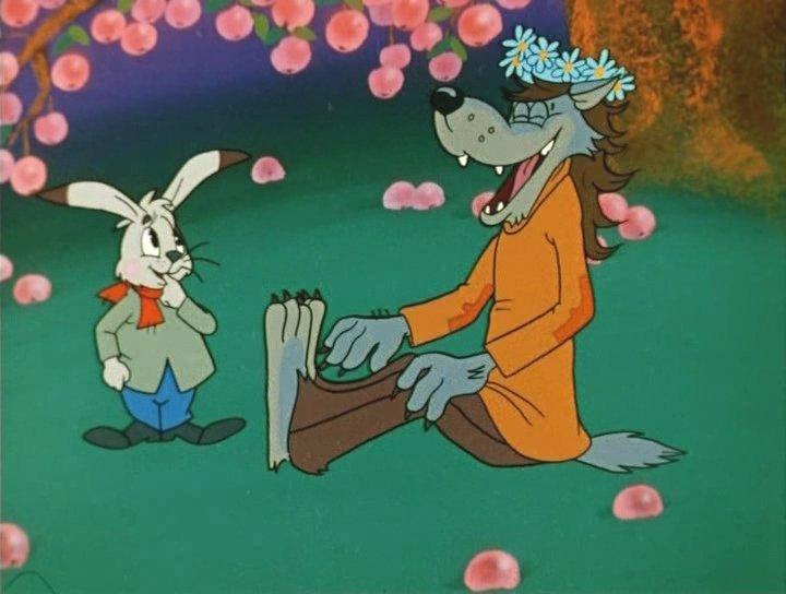 Картинки про зайца и волка, картинки