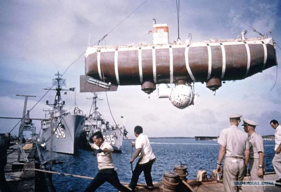 Картинки по запросу 60 лет назад установлен рекорд глубинного погружения на дно Марианской впадины