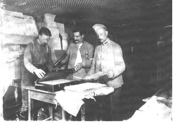Раскрашки 1914-1918 гг.