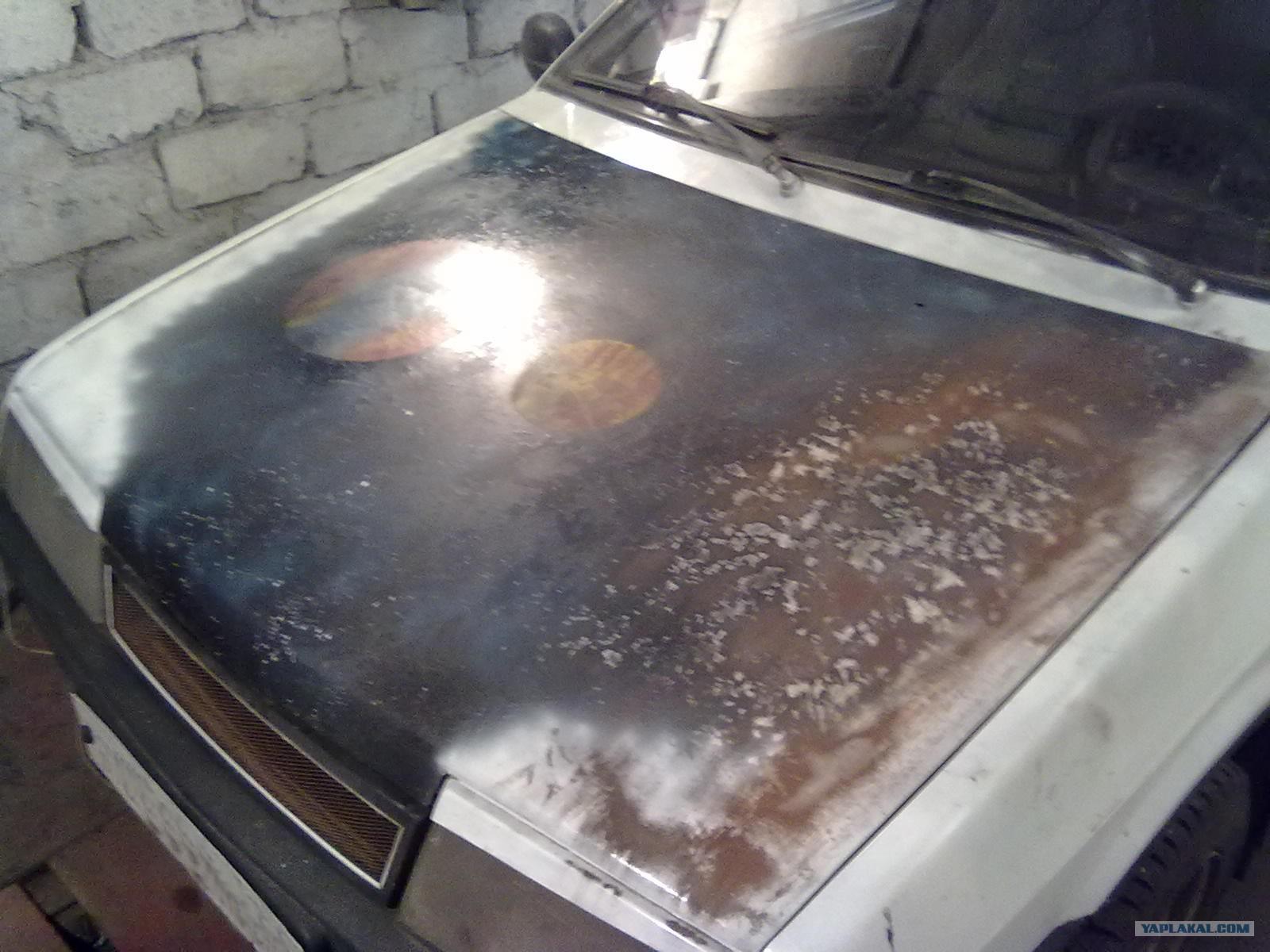 Покраска капота автомобиля своими руками фото и видео