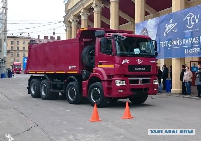 КАМАЗ-65201 Люкс.... Теперь есть и такой! 29 тонн за спиной!