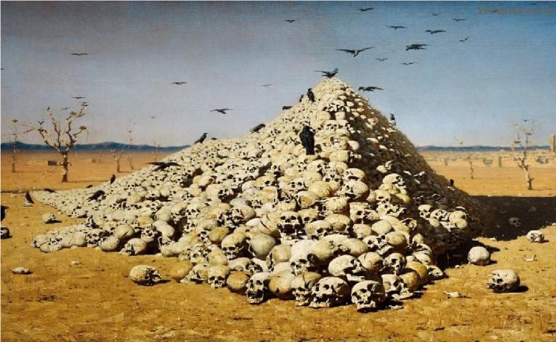 ужас фото война