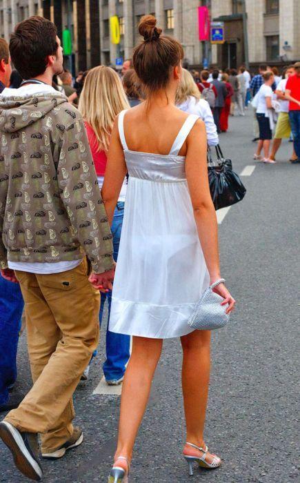 Фото девушек просвечивается одежда 2