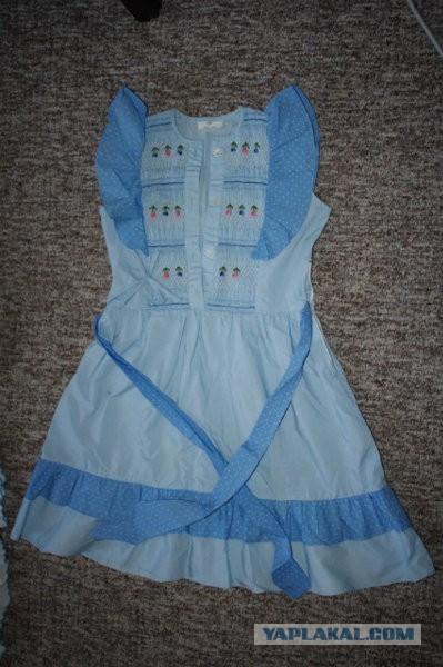 Китайские детские платья 80-х годов