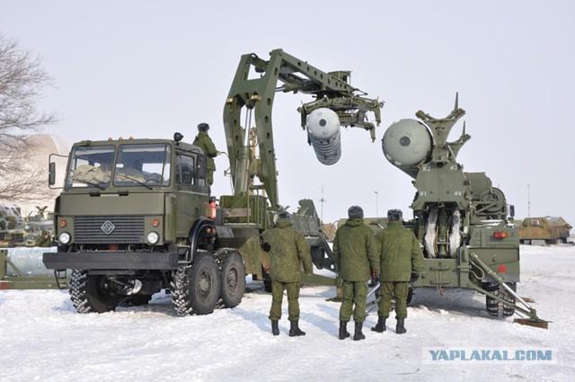 Зенитная ракетная система С-300В4 в Крыму
