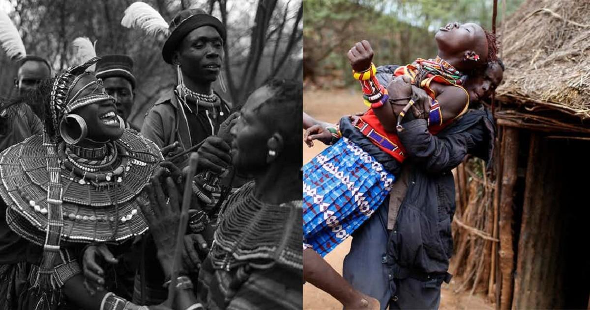Сексуальные потехи африканских племен