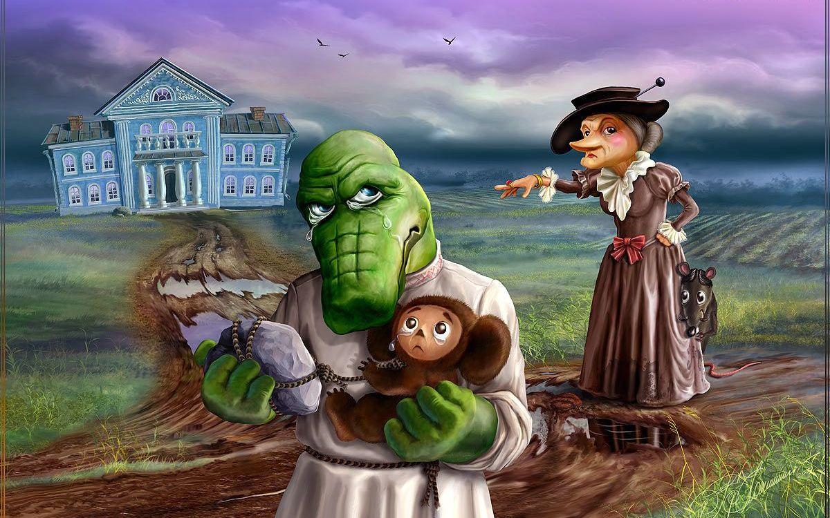 тоже так прикольные картинки из русских сказок очень удобно