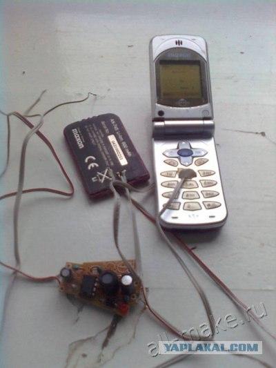 Мобильная сигнализация своими руками из сотового телефона