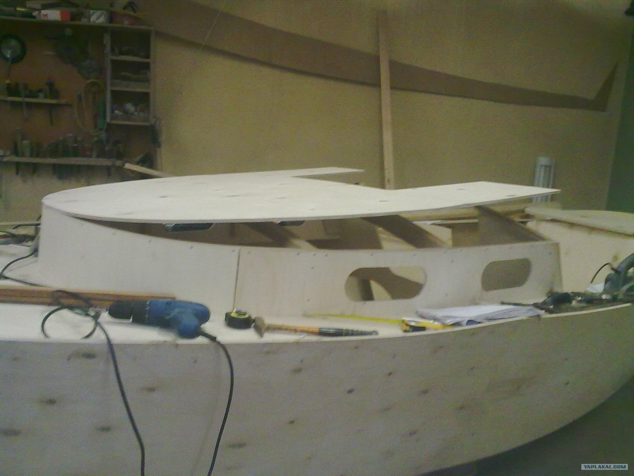 Каютные катера своими руками из фанеры фото 688