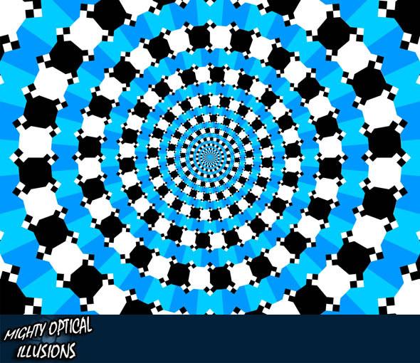 Оптические иллюзии (25 штук)