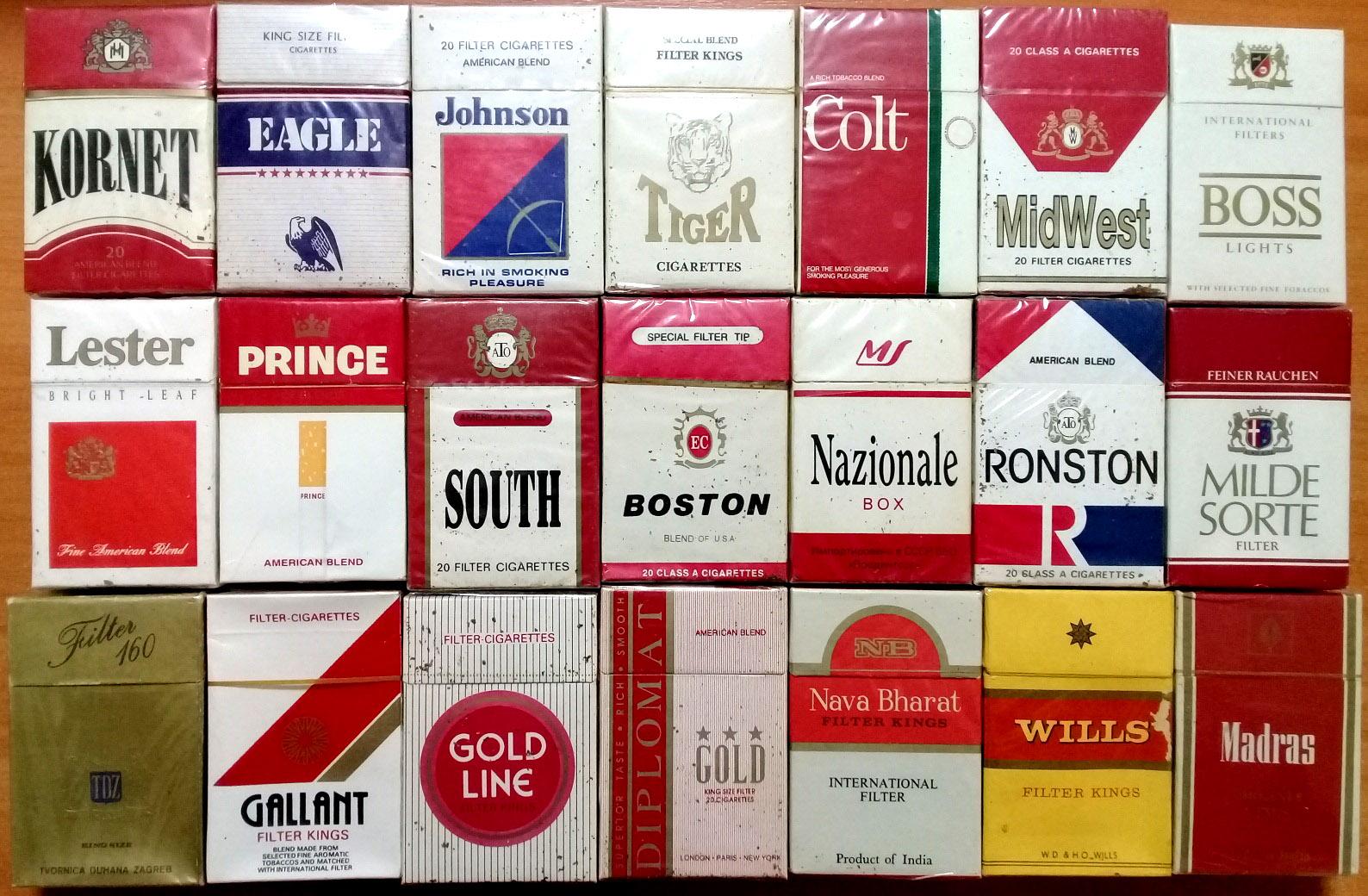 импортные сигареты в россии купить