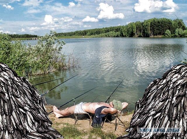 Приколы на рыбалке в контакте