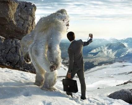 Секс с самкой снежного человека