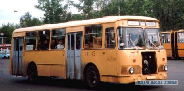 СССР и Россия. Отражение воспитания в общественном транспорте