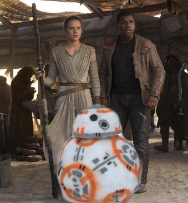 С дочерью сделали дроида BB–8 из «Звёздных войн»