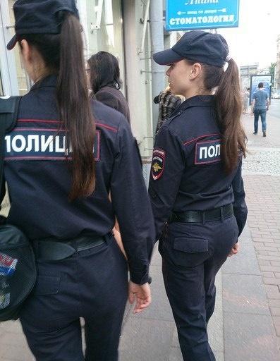 Самые сексуальные профессии полицейская