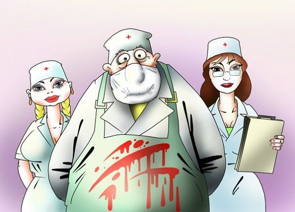 Прикольная картинка медики