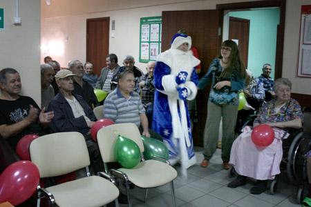 Сценарии на новый год для дома престарелых дома престарелых г юрга кемеровской