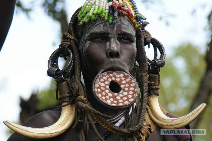 Сексуальные обряды диких племен с белыми девушками
