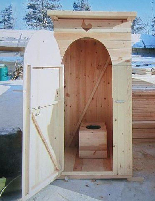 Туалет на даче своими руками — чертежи и размеры
