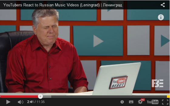 Американским видеоблогерам показали клипы «Ленинграда»