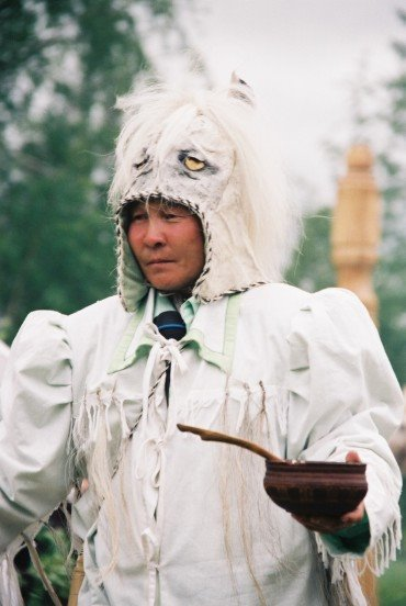 Белый шаман картинки закат онежском