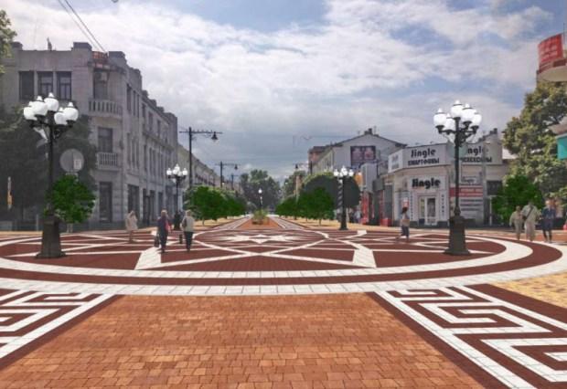 Реконструкция дорог и инфраструктуры Симферополя