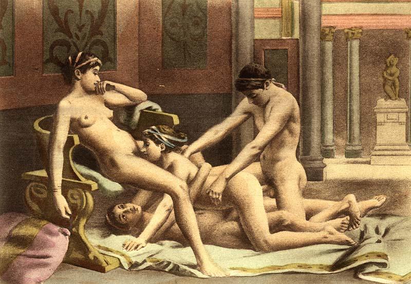 Секс у древних греков видео