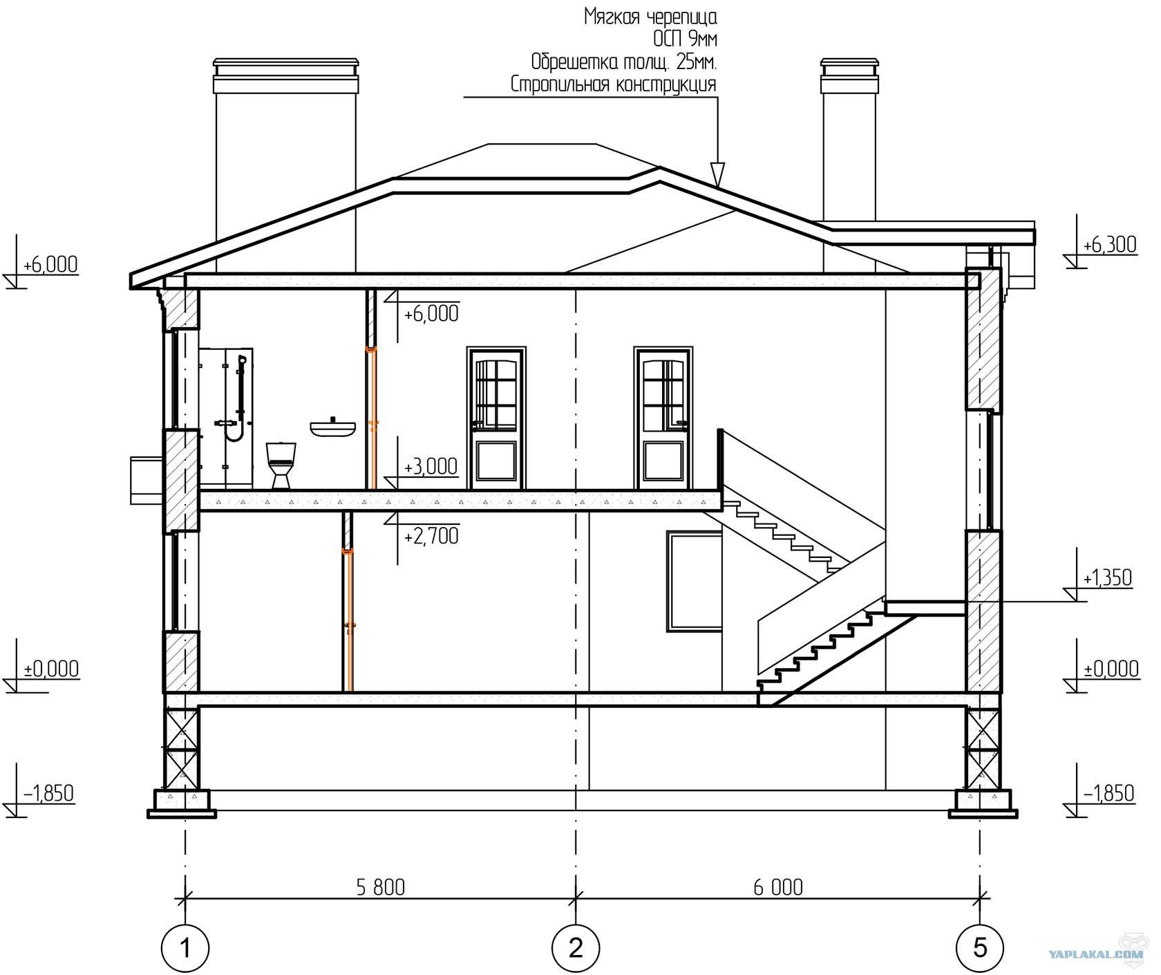 размеры домов на чертежах в картинках адлер равнинном