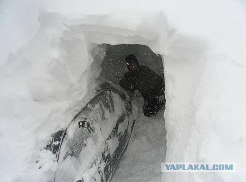 Зима, Россия, снег....