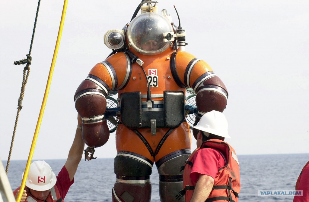 костюм глубоководного водолаза фото строительство газобетонных домов