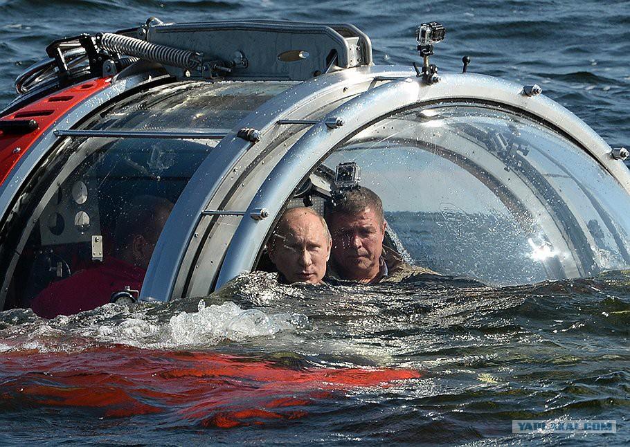Прикольное фото подводной лодки