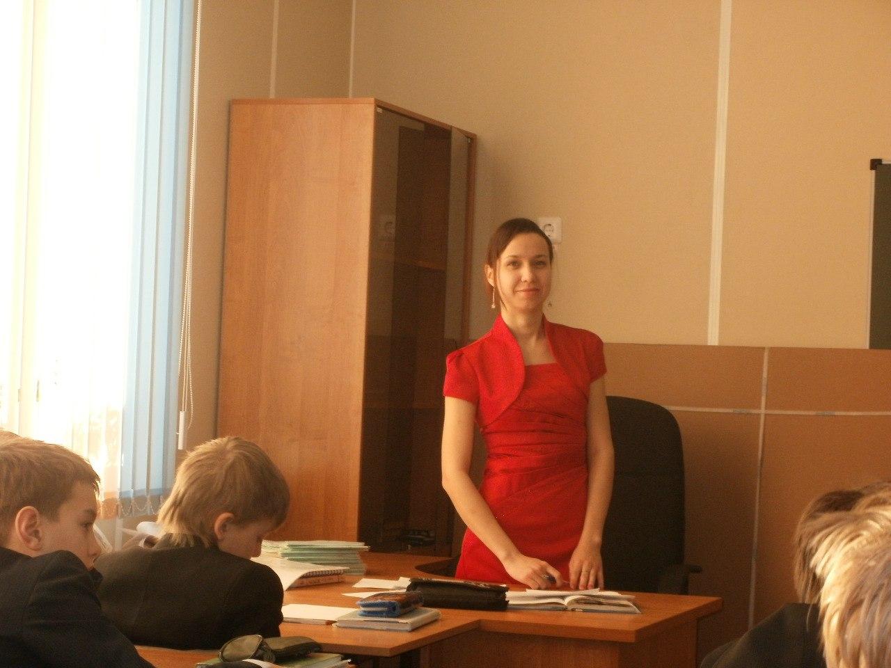 Секс с учительницей на русском языке