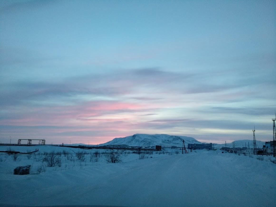 когда начинается полярная ночь в норильске