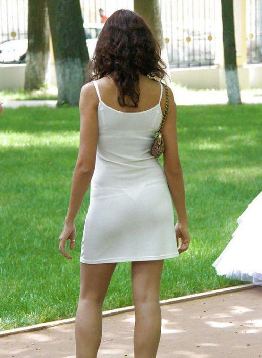 фото в прозрачной одежде девушки