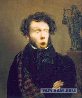 Пушкин сучка